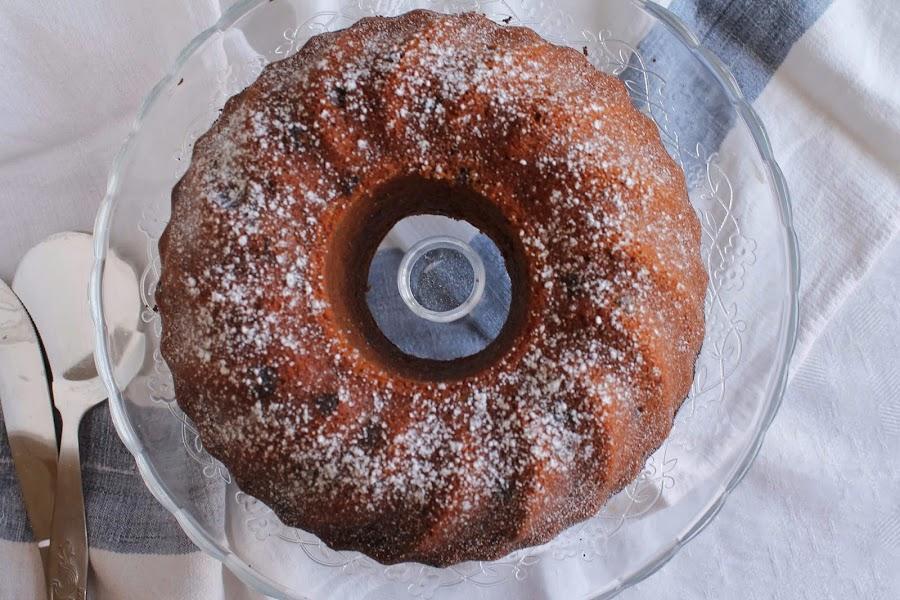 Orange buttermilk Bundt Cake o Bundt cake de naranja