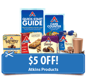 atkins diet coupons walmart