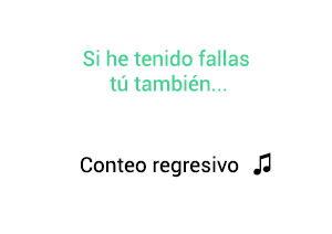 Gilberto Santa Rosa Conteo Regresivo significado de la canción.