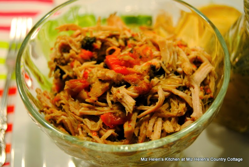 Carnitas Pork Tacos with Honey Lime Dressing, Ready To Serve  at Miz Helen's Country Cottage