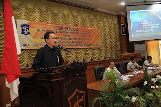 Kepala DPPK Kota Surabaya, Yusron Sumartono