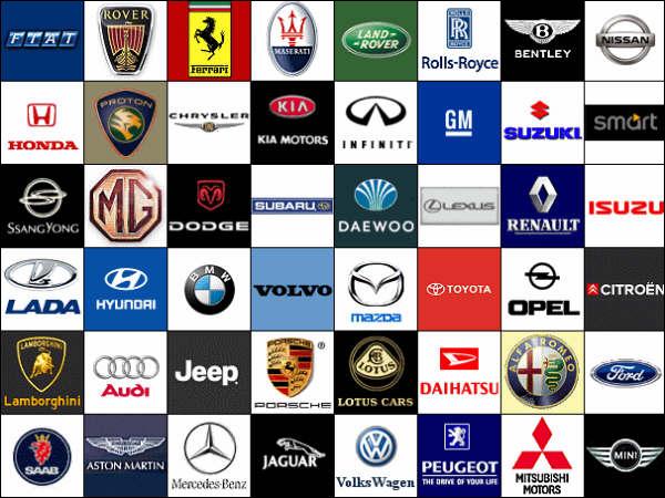 Car Logos With Names Pdf
