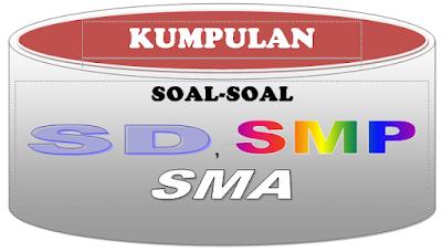 Kumpulan Lengkap Soal-Soal Ulangan Harian SD SMP SMA