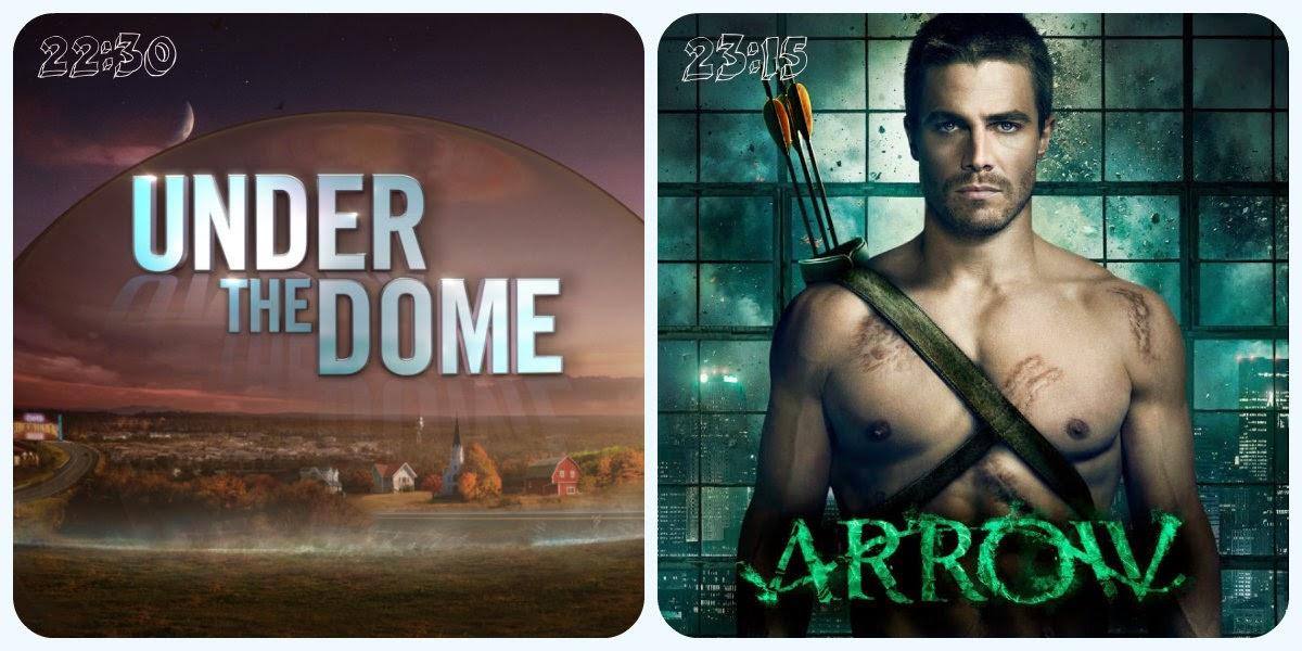 """Vuelven """"La Cúpula"""" y """"Arrow"""" a Antena 3"""
