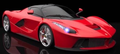 Gambar Mobil Ferrari Warna Merah