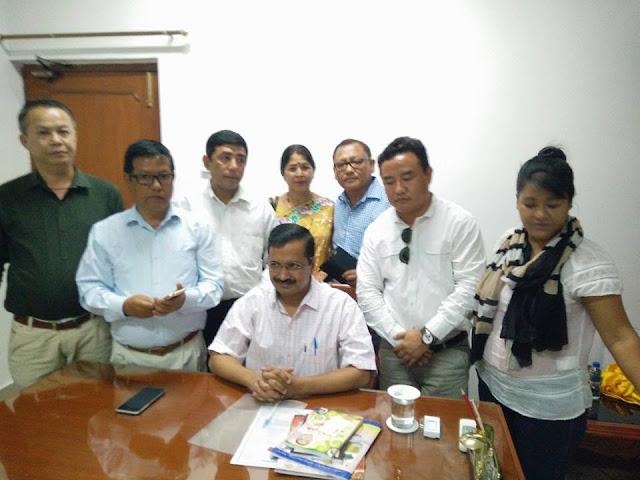 Gorkha Foundation re-submitted memorandum to Arvind Kejriwal