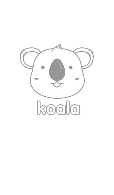Simple White Koala Theme