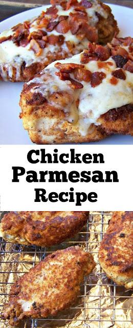 Chicken Parmesan Recipe #chickenparmesanrecipe #chickenparmesan #dinner #slowcooker