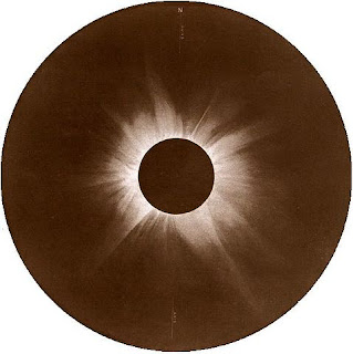 Solar eclipse January 1908 via Wikimedia Commons