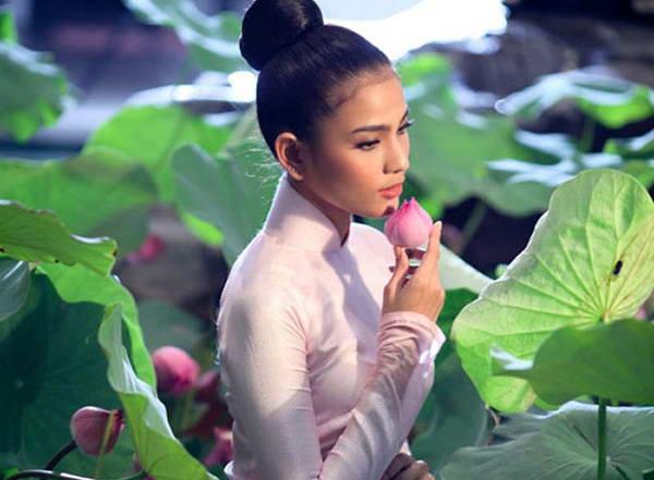 Á hậu Trương Thị May chia sẻ bí kíp giữ dáng nhờ ăn chay