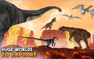 Games Dino World Online - Hunters 3D Apk