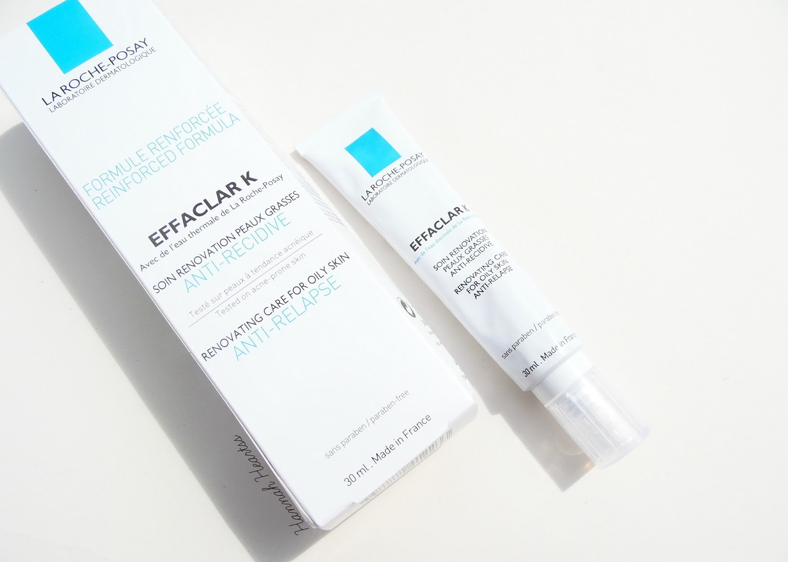 La Roche Posay Effaclar K (+ Before and After Images)