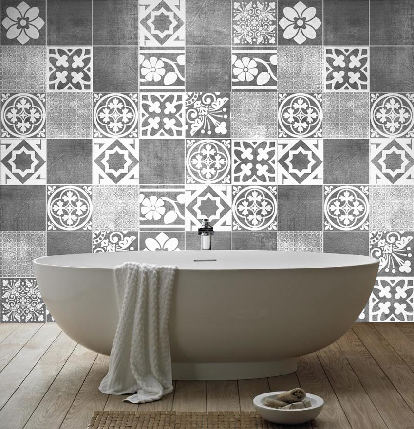 Tile stickers home decor ideas