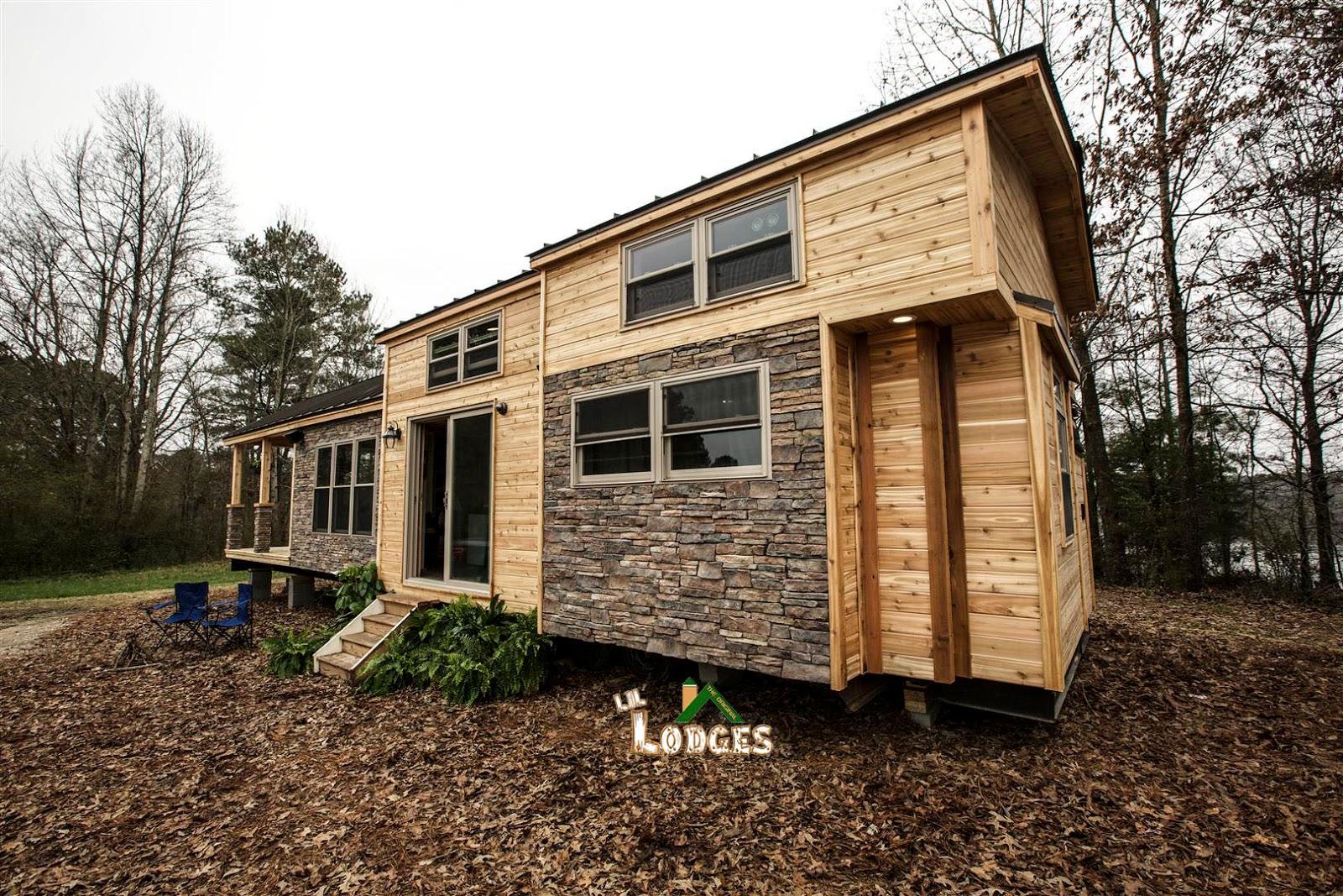 Tiny house town a cozy rv tiny house in cobleskill ny for Building a permanent tiny house