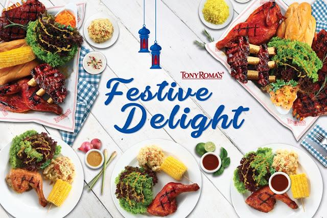 Tony Roma's Perkenal Hidangan Festive Delight Untuk Dikongsi Bersama
