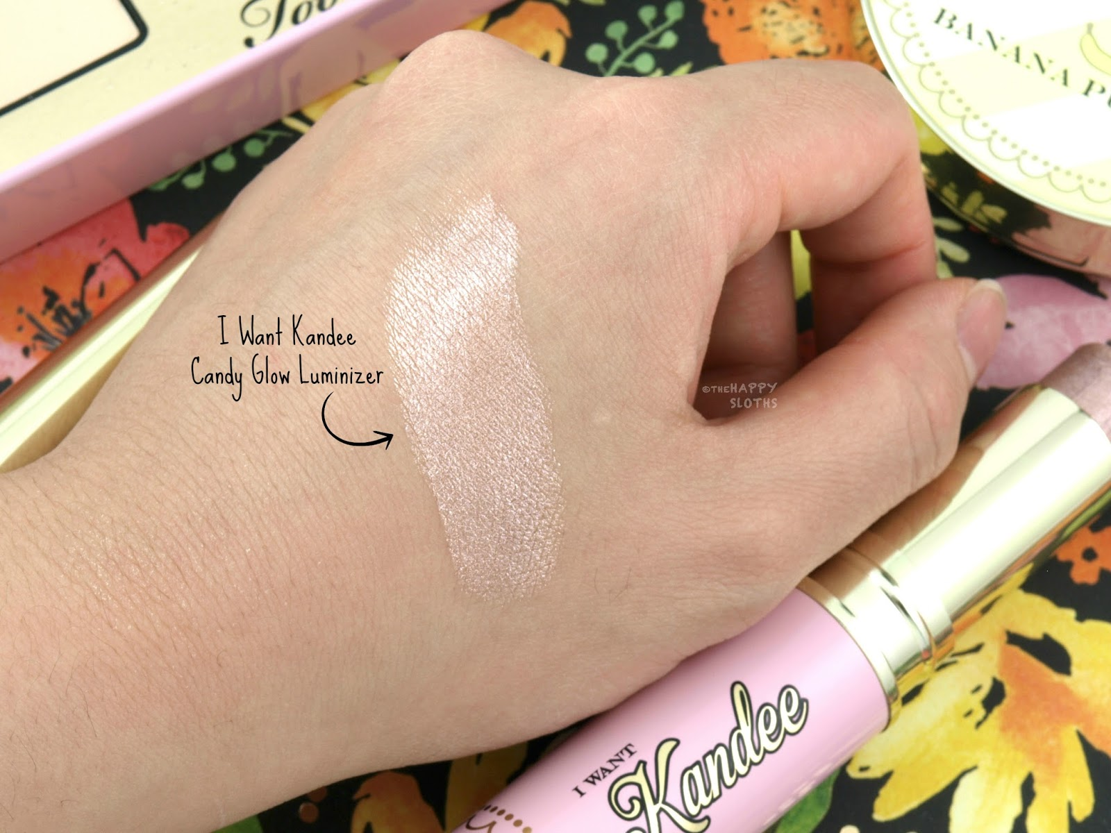 Too Faced x Kandee Johnson | I Want Kandee Candy Glow Luminizer: Review and Swatches
