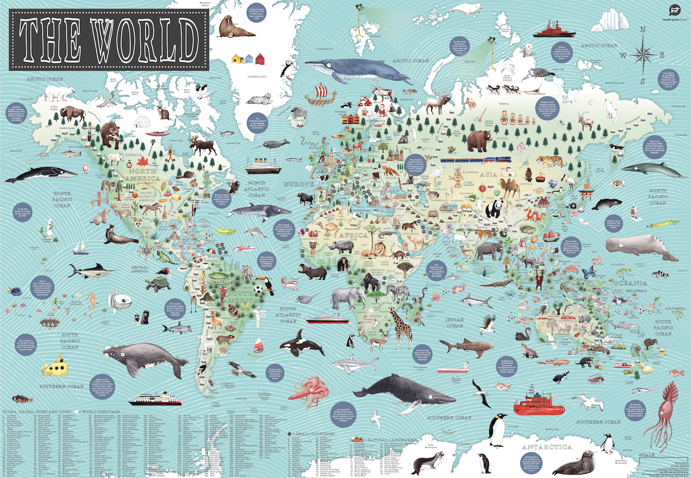 Kids book review winner world illustrated map and our lucky winner is gumiabroncs Gallery