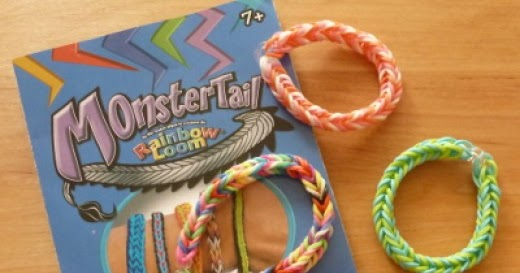 Double Fishtail Loom Band Tutorial Monster Tail