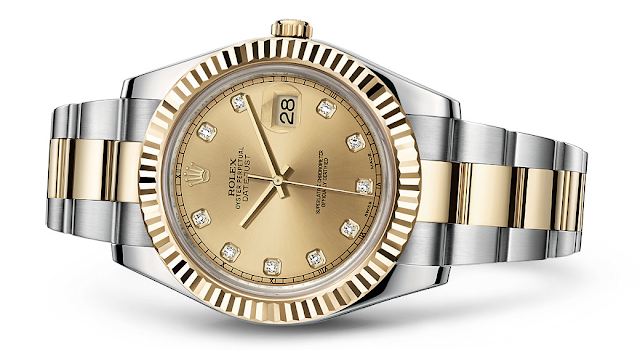 Photo of Diamond Rolex Datejust II