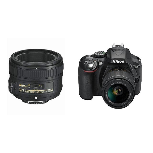 objetivo 50mm y Nikon d5300