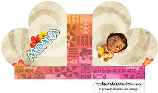 Moana Baby Heart Shaped Open Box