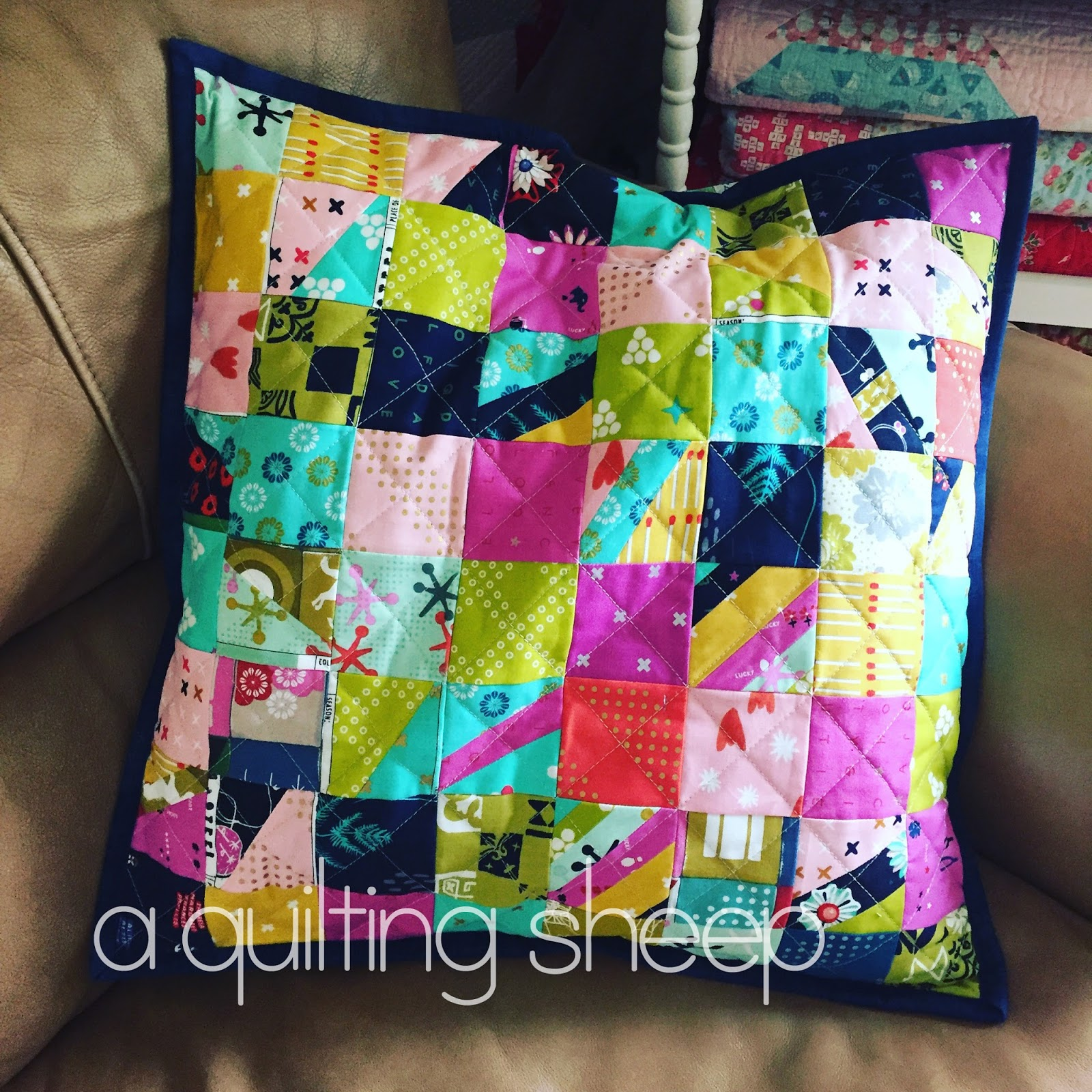 A Quilting Sheep: Quilted Pillow Covers : quilted pillow covers - Adamdwight.com