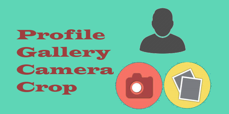 Flutter - Capture Image from camera or gallery and apply crop