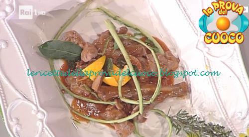 Ricetta Fagiano con funghi lampascioni pomodorini e cardi da La Prova del Cuoco