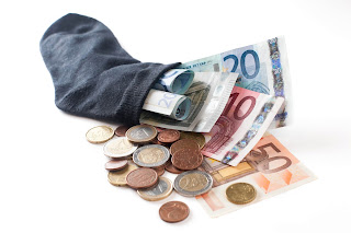 Dinero en un calcetín