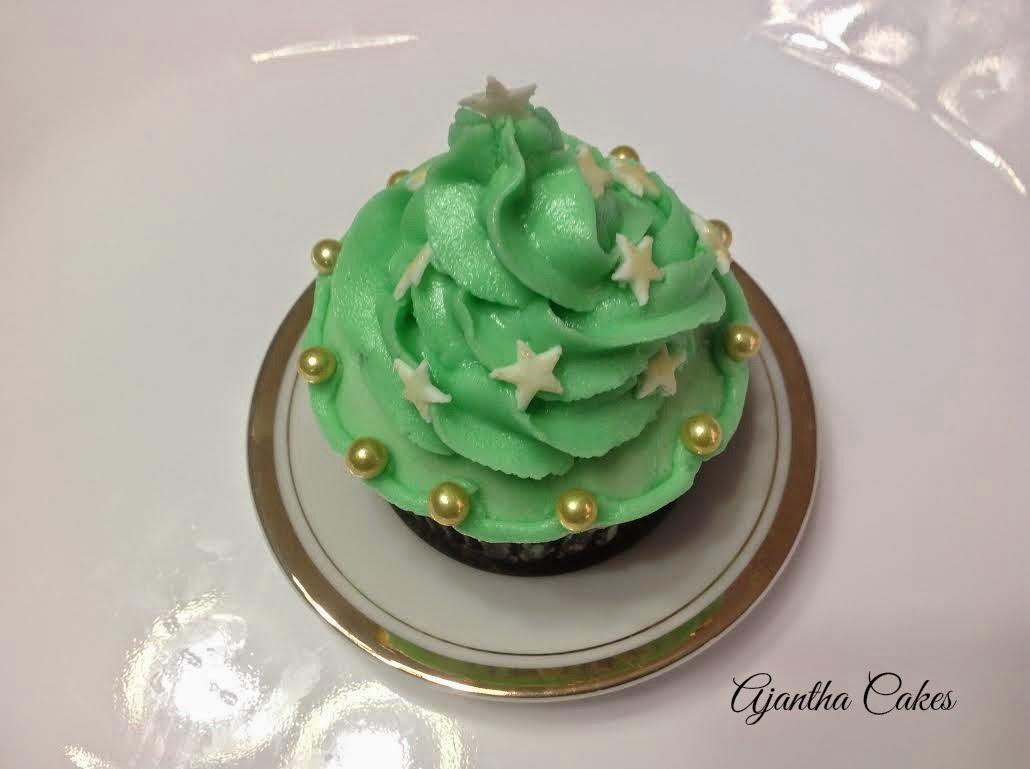 Ajantha cakes/Christmas cupcake 2014