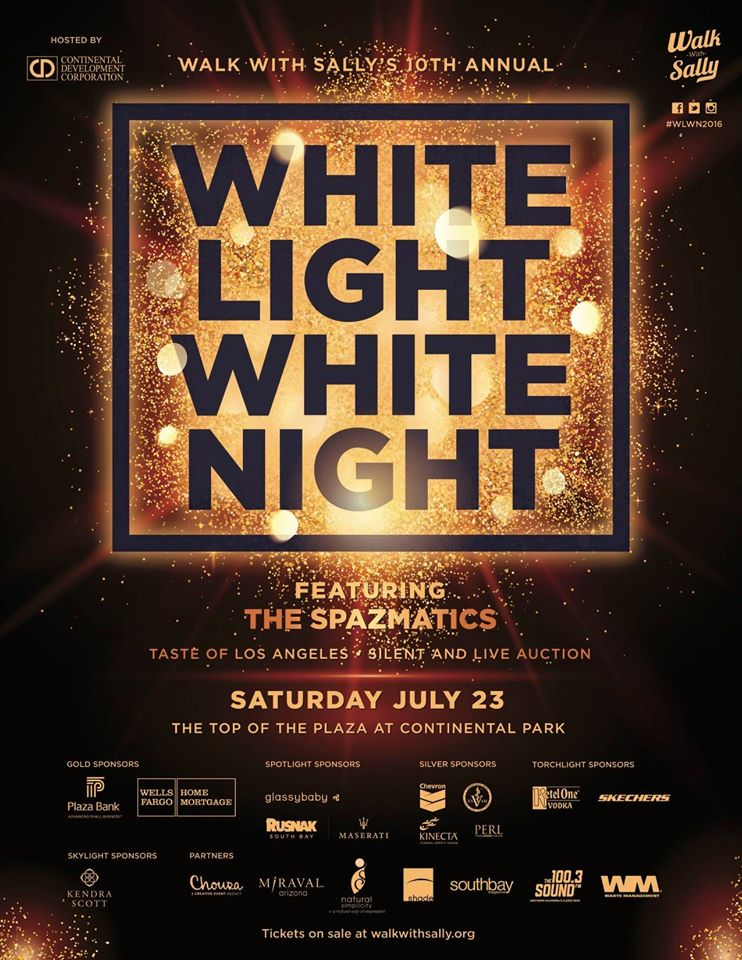 WHITE LIGHT WHITE NIGHT | A CHARITY EVENT TO BENEFIT WALK WITH SALLY JULY 23