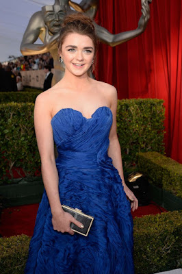 Maisie Williams – 22nd Annual Screen Actors Guild Awards in Los Angeles