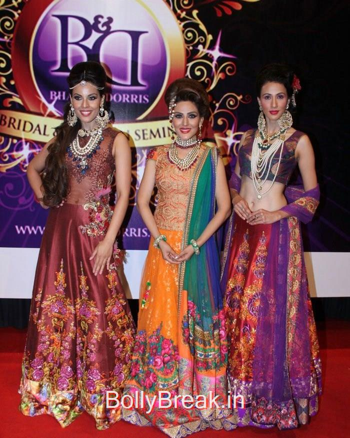 Deepti Gujral, Sandeepa Dhar, Alesia Raut, Sandeepa Dhar Deepti Gujral Hot Pics At Bharat & Dorris hosts Mega MakeUp & Hair Styling Seminar 2015