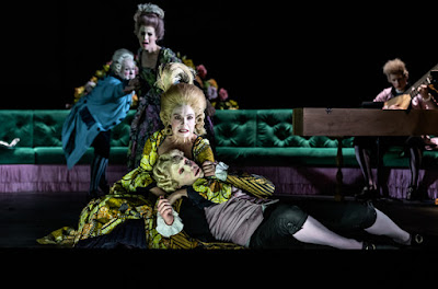 Handel: Berenice - William Berger, Rchael Lloyd, Claire Booth, James Laing - London Handel Festival, Royal Opera -(C) ROH 2019 Photo Clive Barda*