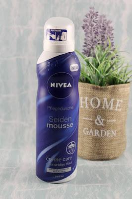 Die Nivea Seiden-Mousse Pflegedusche einzeln