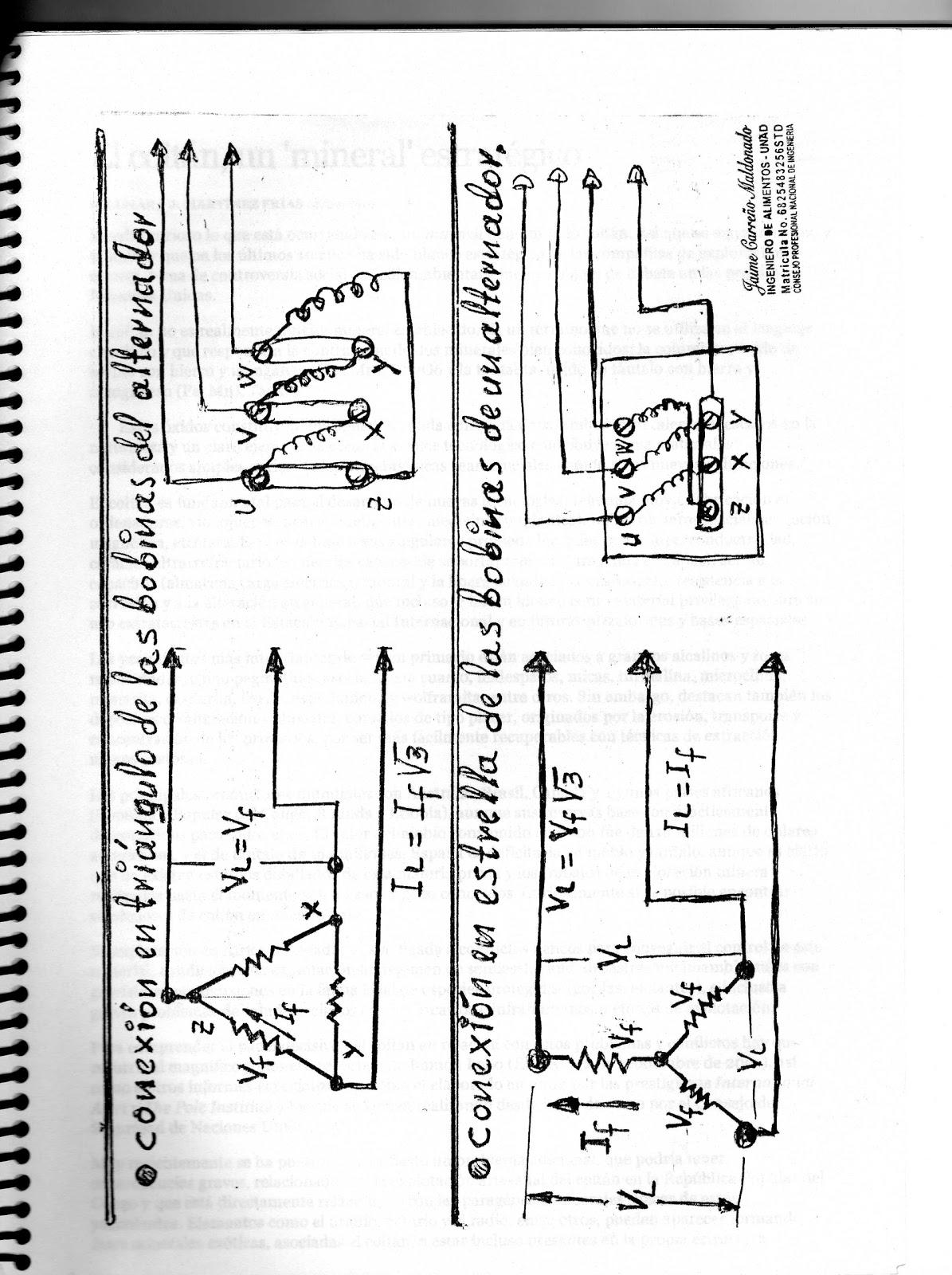 INVESTIGACIONES JAIME: Conexiones triángulo/estrella en