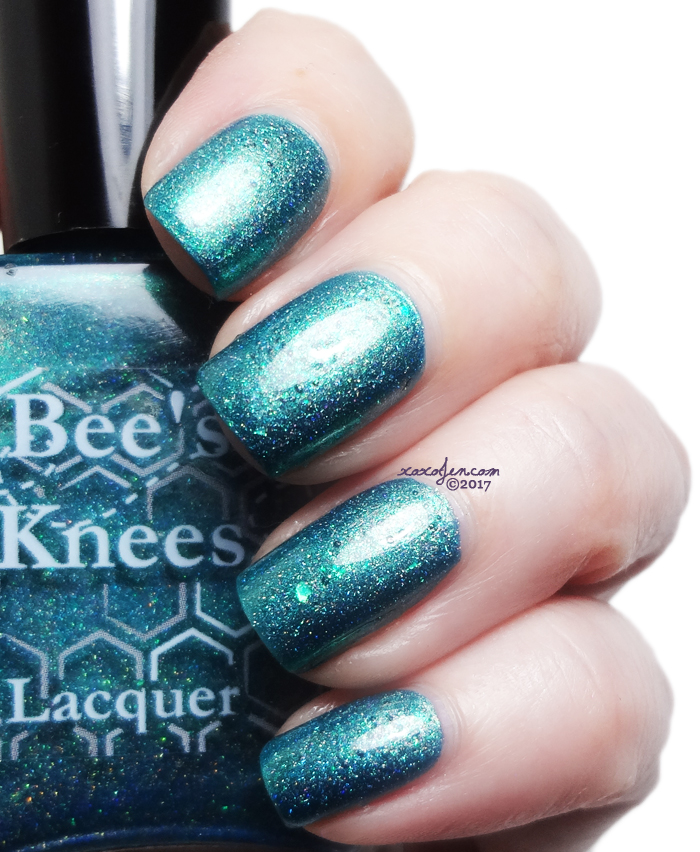xoxoJen's swatch of Bee's Knees: Salty Anon
