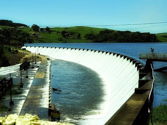 A Barragem do Salto, em São Francisco de Paula, faz parte do Sistema Salto