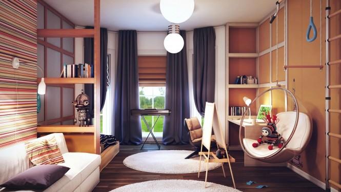 Hogares frescos habitaci n lista para la acci n de los ni os for Jugendzimmer jungen 16