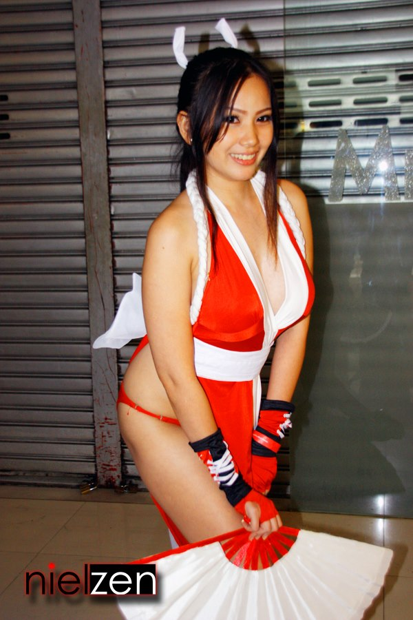 barbie san miguel sexy mai shiranui cosplay 01