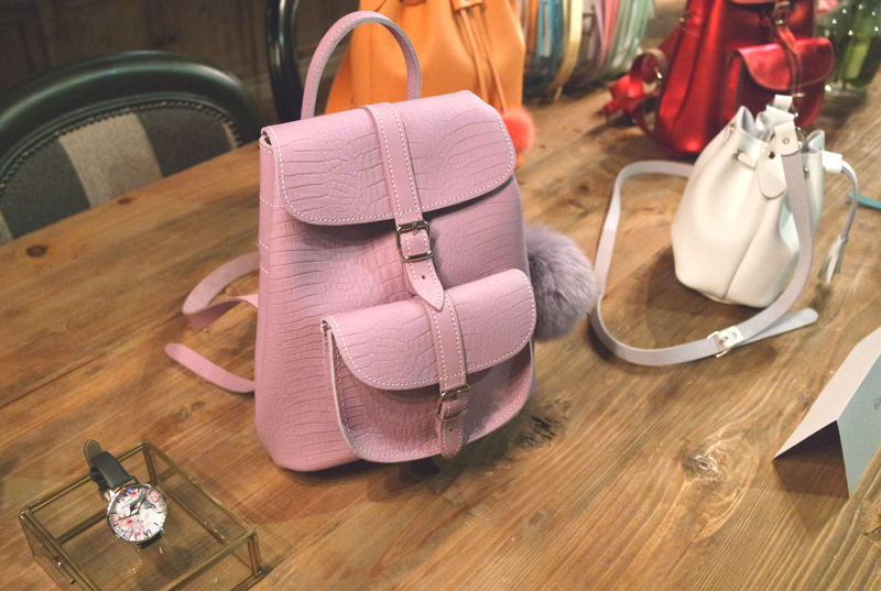 SS16 lilac Grafea backpack