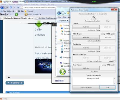 phần mềm Crack windows 7