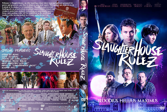 Slaughterhouse Rulez DVD Cover