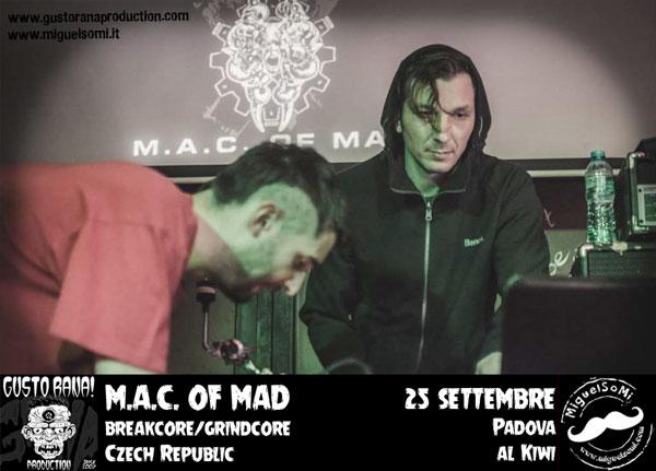 MAC of Mad Breakcore Grindcore