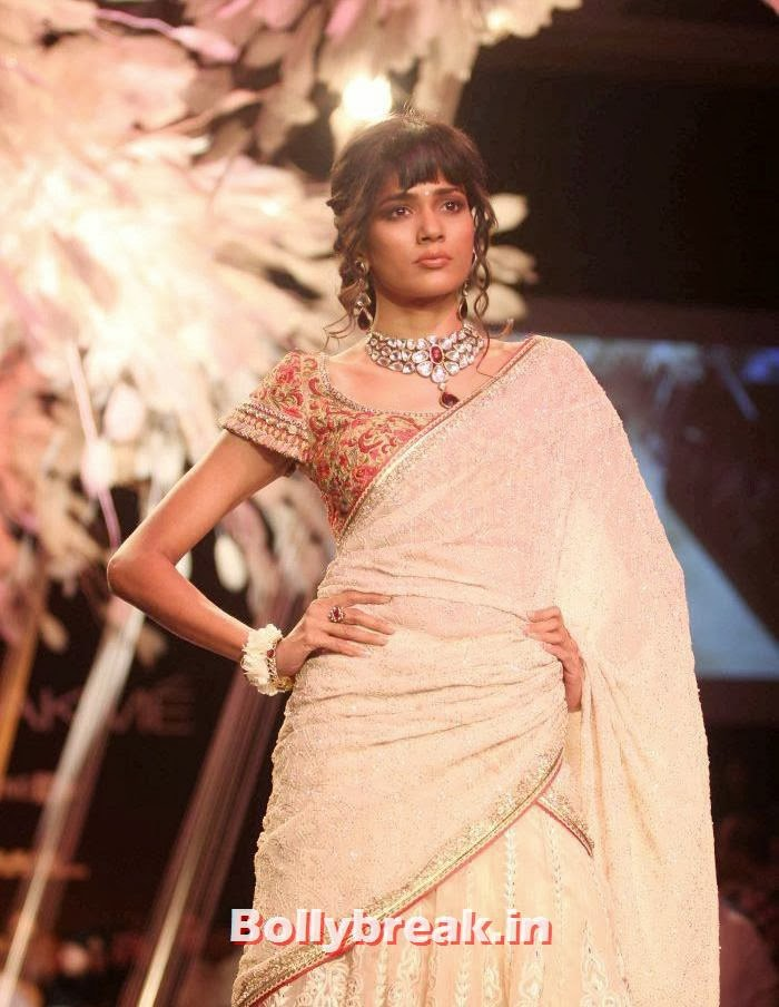 , Jacquiline, Dusky Models walk for Tarun Tahiliani Show at LFW 2014