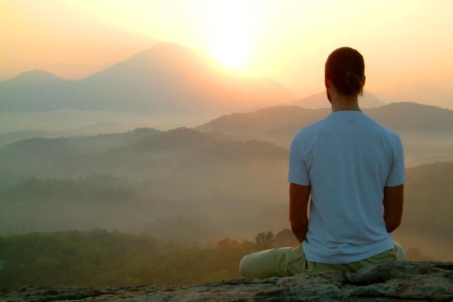 التأمل هو وسيلة من وسائل مقاومة التوتر النفسي