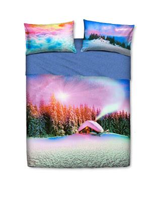 Snowly landscape de Bassetti Imagine. Juego de sábanas