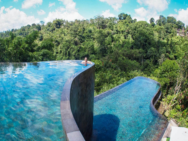 29 Most Amazing Infinity Pools in Pictures - Ubud Hanging Gardens, Bali, Indonesia