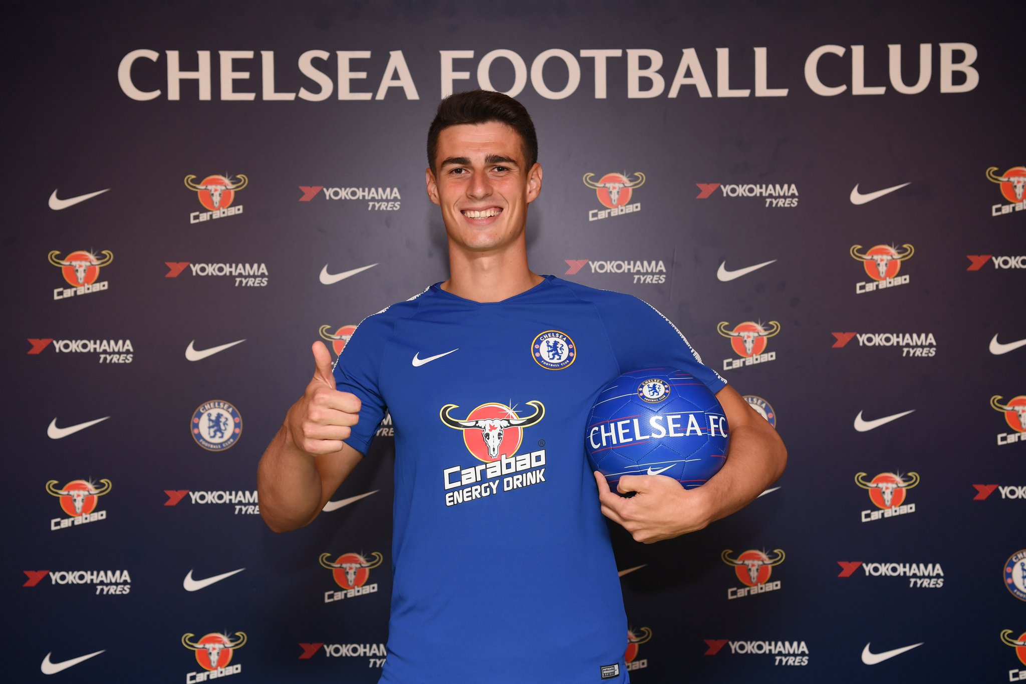 Kepa Arrizabalaga joins Chelsea from Athletic Bilbao for a world-record fee