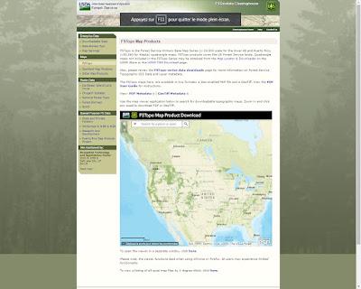 Topo Maps - Parcs Nationaux